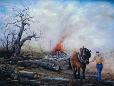 TRAVAUX FORESTIERS EN HIVER